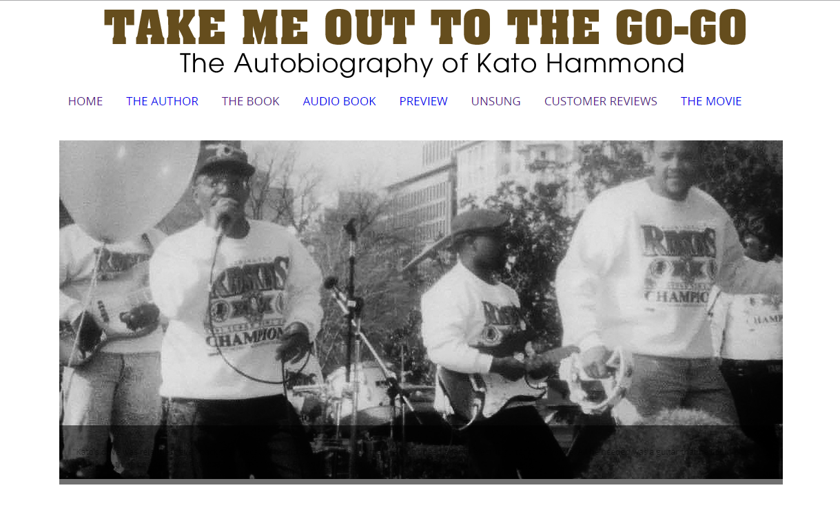Take Me Out To The Go-Go: The Book