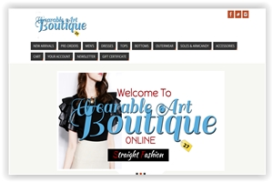 Wearable Art Boutique